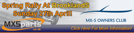 2014 Spring Rally At Brooklands!