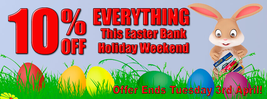 10% Off EVERYTHING This Easter