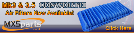 Cosworth Air Filters Available Now!