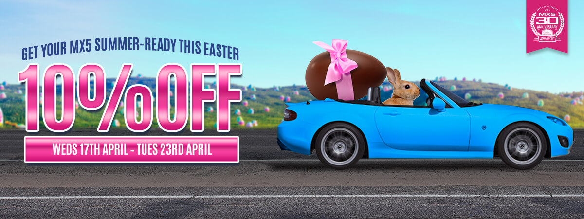 10% Off EVERYTHING This Easter Weekend