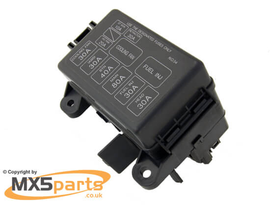 si6199 fuse box cover, mx5 mk1 1993 1998 rhd only mx5 mk1 fuse box at virtualis.co