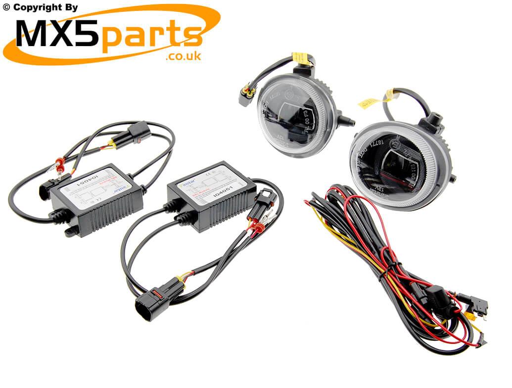 Led Daytime Running Light Foglamp Kit Mx5 Mk3 35 Drl Wiring Instructions
