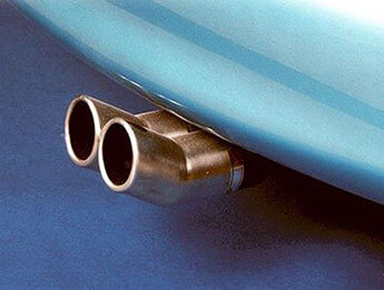 Stainless Exhaust, IL Motorsport Twin Centre Exit, MX5 Mk2/2.5