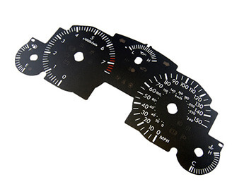 Conversion Dial, MX5 Mk3, Up To 150 MPH, Manual Transmission