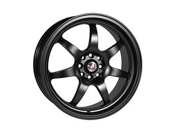 "15"" Calibre ""Pro 7"" Black Alloys, Set Of Four, Mk1/2/2.5"