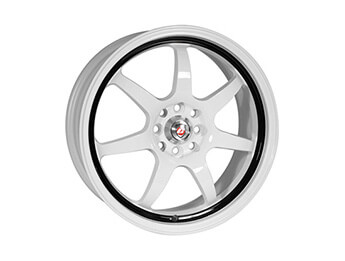 "15"" Calibre \""Pro 7\"" White Alloys, Set Of Four, Mk1/2/2.5"