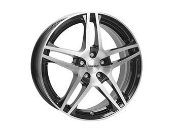"15"" Dezent Type RB Silver & Black Alloys, Set Of Four, Mk1/2/2.5"
