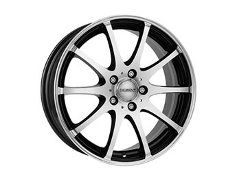 "15"" Dezent Type V Silver & Black Alloys, Set Of Four, Mk1/2/2.5"