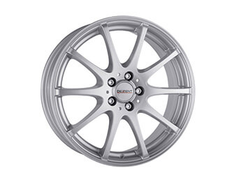 "14"" Dezent Type V Silver Alloys, Set Of Four, Mk1/2/2.5"