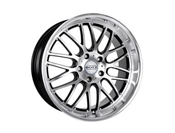 "15"" Dotz Mugello Silver & Black Alloys, Set Of Four, Mk1/2/2.5"