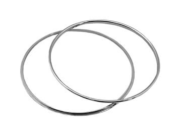 Chrome Instrument Rings, Large, MX5 Mk1