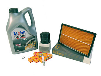 Service Kit, Genuine Mazda Filters & Oil, MX5 Mk1