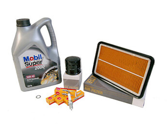 Service Kit, Genuine Mazda Filters, MX5 Mk2/2.5