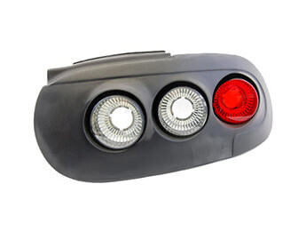 Rear Lamp Set, Retro With Hella Inserts, MX5 Mk1