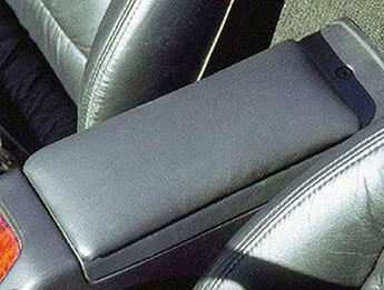 Leather Arm Rest, Mk2/2.5
