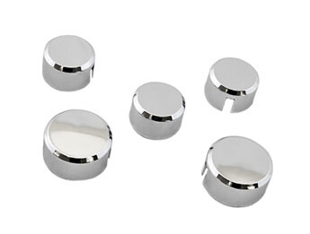 Chrome Needle Cap Covers, MX5 Mk1/2/2.5