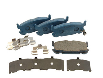 Rear Pads, Genuine Mazda, MX5 Mk2/2.5 Big Brake