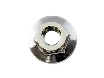 Flange Nut, Battery Clamp / Bumpers / General, All Models