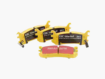 Rear Pads, EBC Yellowstuff, Mk1 1.8 & Mk2/2.5 Standard Brake