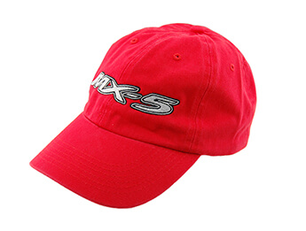 Cap, Red With Large MX5 Logo