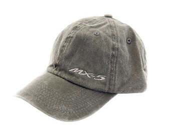 Cap, Black With Small MX5 Logo
