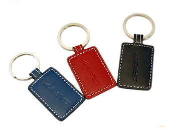 Leather MX5 Keyring