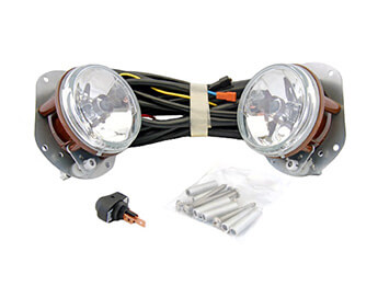 Front Fog Light Kit, Aftermarket, Mazda MX5 Mk2.5