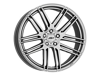 "17"" AEZ Cliff Alloys, Silver, MX5 Mk4"