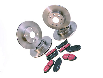 Discs & Pads Package, Aftermarket, MX5 Mk1 1.6