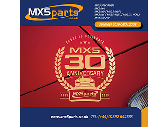 MX5 Parts Free Full Colour Catalogue