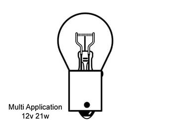 High Level Brake Light Bulb, Mazda MX5 Mk2
