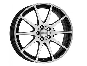 "17"" Dezent Type TI Silver & Black Alloys, Mk3/3.5/3.75"