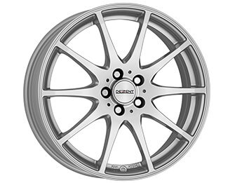 "17"" Dezent Type TI Silver Alloys, Mk3/3.5/3.75"