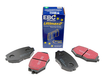 Front Pads, EBC Ultimax, MX5 Mk2/2.5 Standard Brake