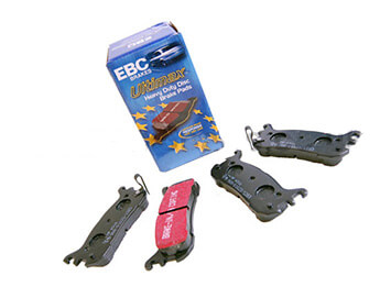 Rear Pads, EBC Ultimax, MX5 Mk1 1.8