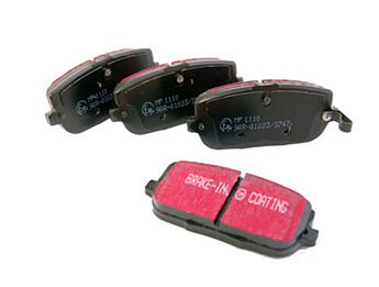 Rear Brake Pads, EBC Ultimax, MX5 Mk3/3.5/3.75