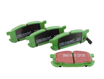 Rear Pads, EBC Greenstuff, MX5 Mk2/2.5 Big Brake