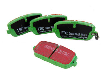 Rear Brake Pads, EBC Greenstuff, MX5 Mk3/3.5/3.75
