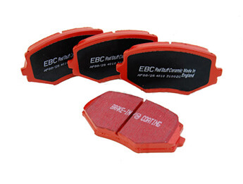 Rear Pads, EBC Redstuff, MX5 Mk1 1.8
