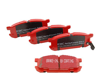 Rear Pads, EBC Redstuff, MX5 Mk2/2.5 Big Brake