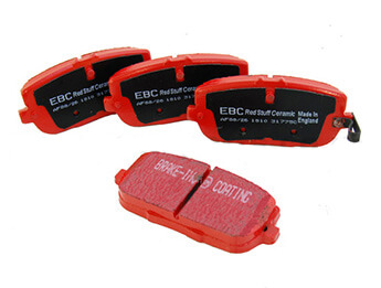 Rear Brake Pads, EBC Redstuff, MX5 Mk3/3.5/3.75