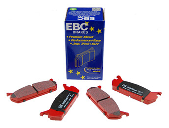 Rear Pads, EBC Redstuff, MX5 Mk1 1.6