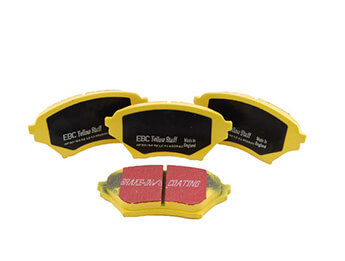 Front Pads, EBC Yellowstuff, MX5 Mk2/2.5 Big Brake
