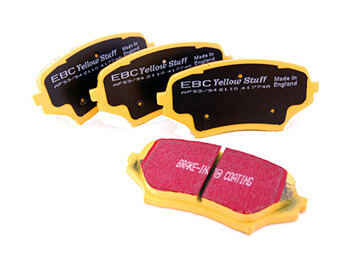 Front Brake Pads, EBC Yellowstuff, MX5 Mk3/3.5/3.75