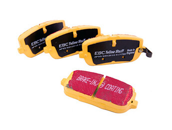 Rear Brake Pads, EBC Yellowstuff, MX5 Mk4