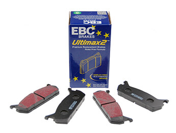 Rear Pads, EBC Ultimax, MX5 Mk1 1.6