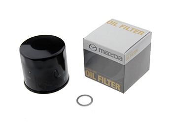 Oil Filter, Genuine Mazda, MX5 Mk1/2/2.5