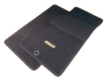 Carpet Mat Set, Standard Black, MX5 Mk1/2/2.5