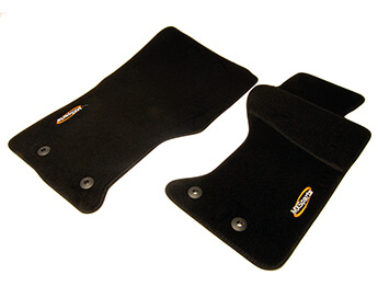 Carpet Mat Set, Standard Black, RHD MX5 Mk4