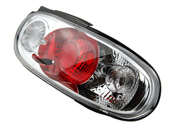 Rear Lamp Set, Clear, MX5 Mk1